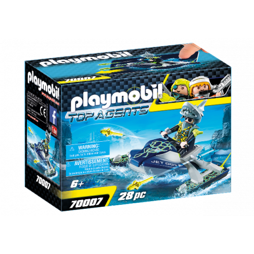 PLAYMOBIL 70007 - TEAM S.H.A.R.K. Rocket Rafter