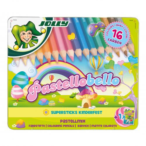 """JOLLY Pastellstifte-Zeichenset """"Pastellobello"""""""
