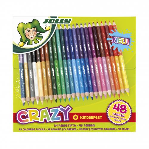 JOLLY Supersticks Crazy 24er (48 Farben)