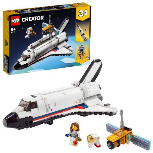 LEGO 31117 CREATOR - Spaceshuttle-Abenteuer