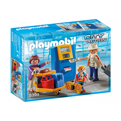 PLAYMOBIL 5399 - Familie/Check-In