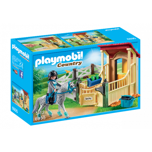 "PLAYMOBIL 6935 - Pferdebox ""Appaloosa"""
