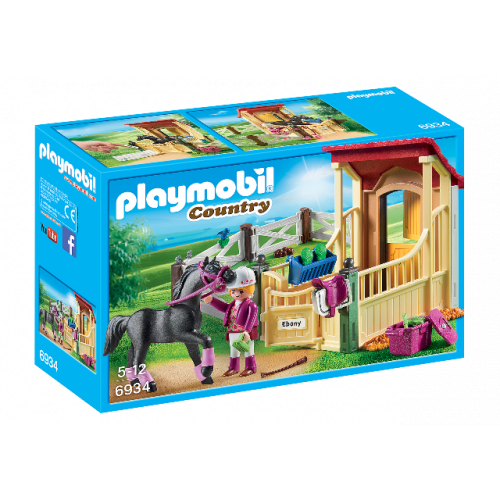 "PLAYMOBIL 6934 - Pferdebox ""Araber"""