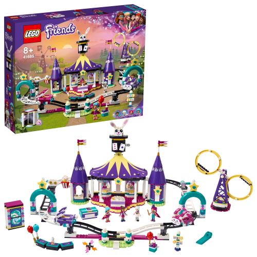 LEGO 41685 FRIENDS -  Magische Jahrmarktachterbahn