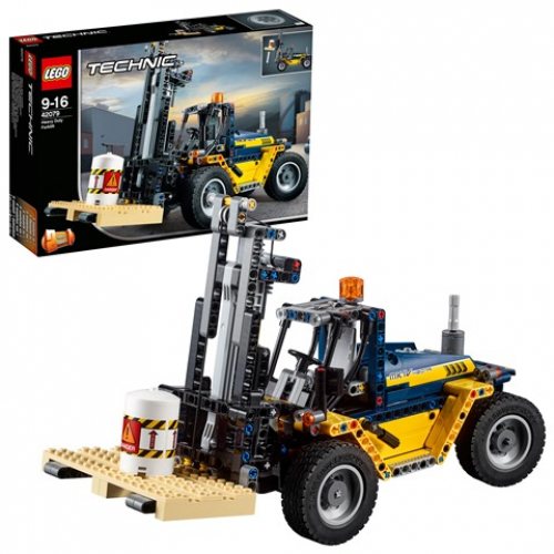 LEGO 42079 TECHNIC - Schwerlast-Gabelstapler