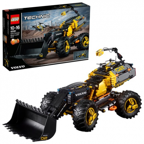 LEGO 42081 Technic - Volvo Konzept-Radlader ZEUX