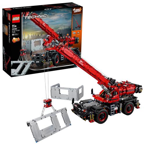 LEGO 42082 TECHNIC - Geländegängiger Kranwagen