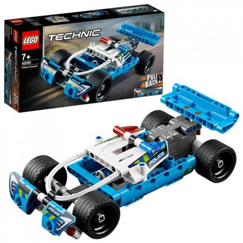 LEGO 42091 TECHNIC -  Polizei-Verfolgungsjagd