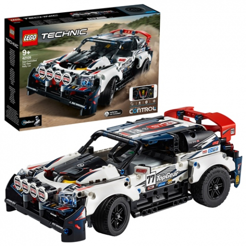 LEGO 42109 Technic - Top-Gear Ralleyauto mit App-Steuerung