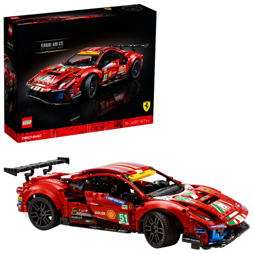 "LEGO 42125 TECHNIC -  Ferrari 488 GTE ""AF Corse #51"""