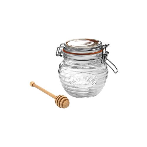 KILNER Honigglas mit Honigportionierer