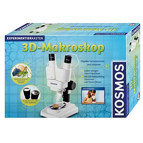 KOSMOS 3D-Makroskop, Experimentierkasten