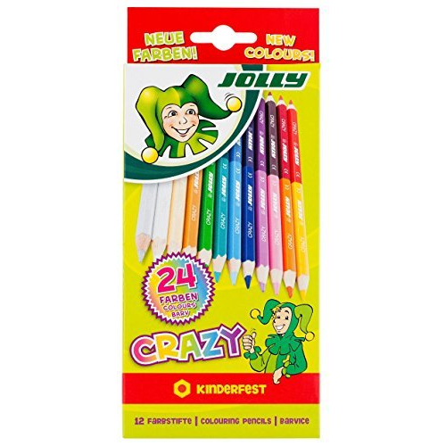 """Jolly Farbstifte """" Superstick crazy"""", 24 Farben"""