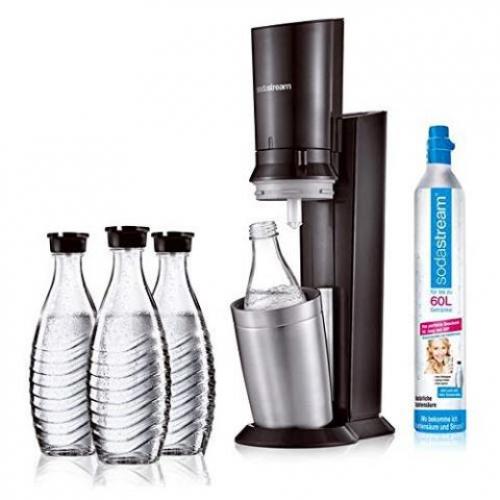SodaStream Crystal 2.0 Vorteilspack (inkl. 3 Karaffen)