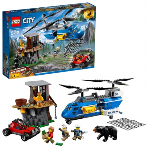 LEGO 60173 City - Festnahme in den Bergen