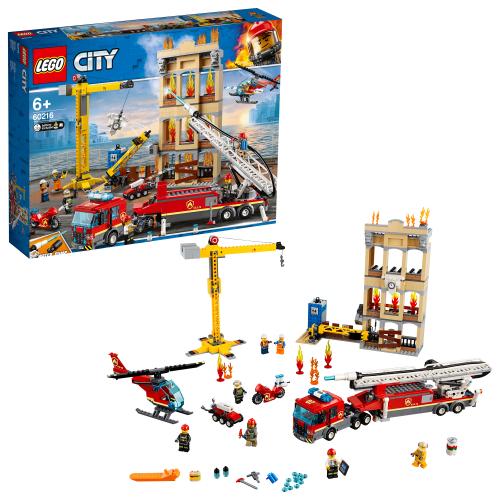 LEGO 60216 CITY -  Feuerwehr in der Stadt