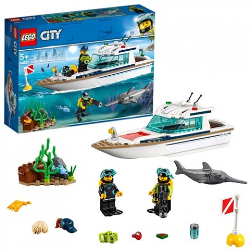LEGO 60221 City - Tauchyacht