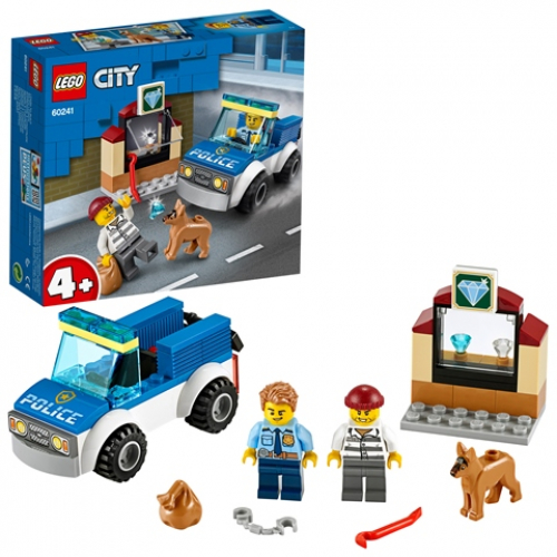 LEGO 60241 City - Polizeihundestaffel