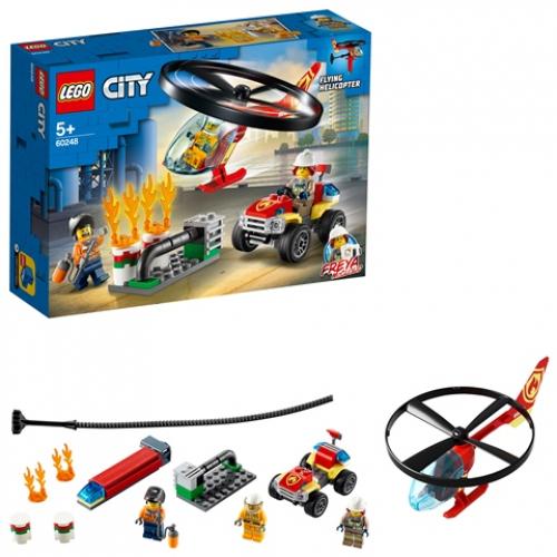 LEGO 60248 City -  Einsatz mit dem Feuerwehrhubschrauber