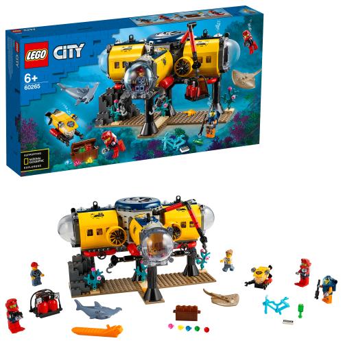 LEGO 60265 CITY - Meeresforschungsbasis