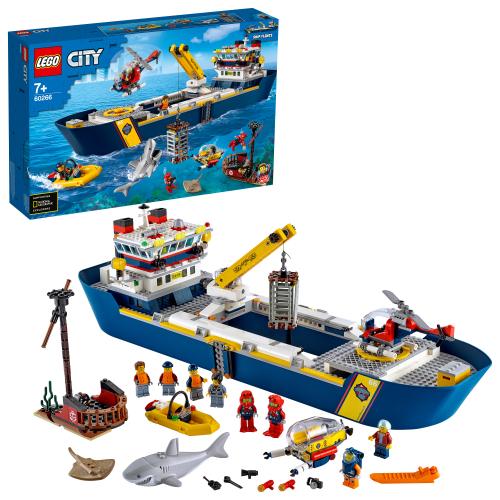 LEGO 60266 CITY -  Meeresforschungsschiff