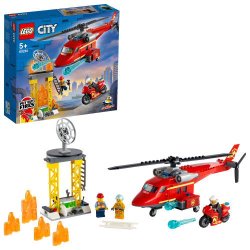 LEGO 60281 CITY - Feuerwehrhubschrauber