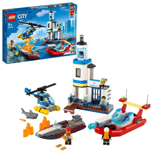 LEGO 60308 CITY -  Polizei und Feuerwehr im Küsteneinsatz