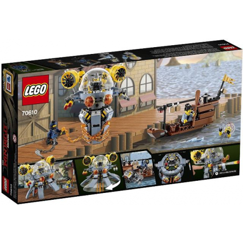 LEGO 70610 Ninjago -  Turbo-Qualle