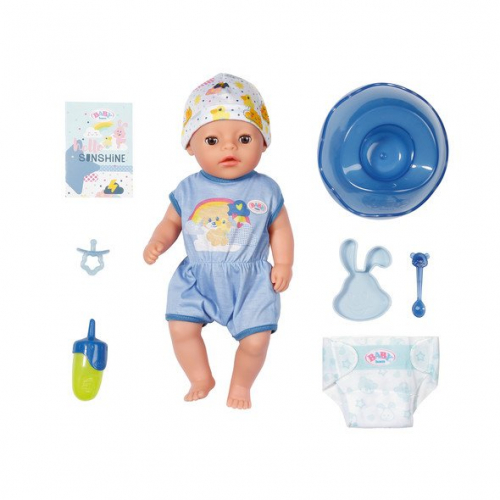 BABY BORN Soft Touch Little Boy 36cm