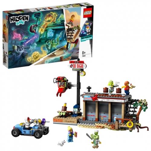 LEGO 70422 Hidden Side - Angriff auf die Garnelenhütte