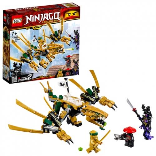 LEGO 70666 Ninjago - Goldener Drache