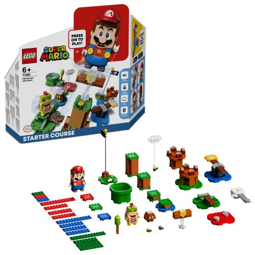 LEGO 71360 SUPER MARIO - Abenteuer mit Mario – Starterset