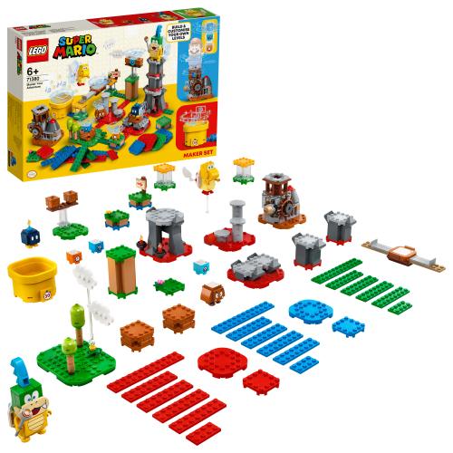 LEGO 71380 SUPER MARIO -  Baumeister-Set für eigene Abenteuer