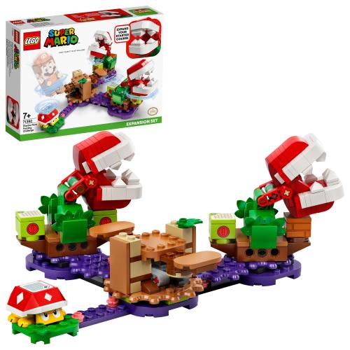 LEGO 71382 SUPER MARIO -  Piranha-Pflanzen-Herausforderung – Erweiterungsset