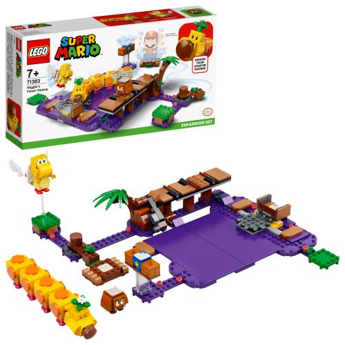 LEGO 71383 SUPER MARIO -  Wigglers Giftsumpf – Erweiterungsset