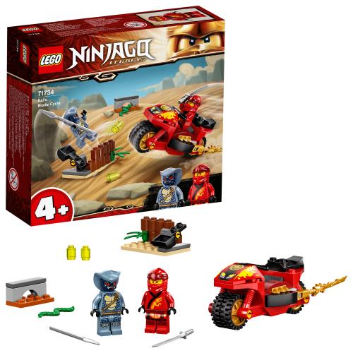 LEGO 71734 NINJAGO -  Kais Feuer-Bike