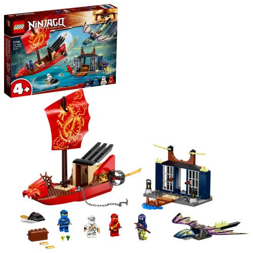 LEGO 71749 NINJAGO - Flug mit dem Ninja-Flugsegler