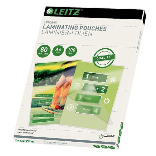 Leitz Lamenier-Folien, A4, glänzend 100 Stk.(33818)