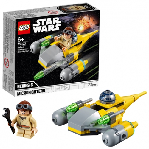 LEGO 75223 Star Wars - Naboo Starfighter™ Microfighter