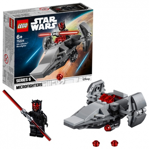 LEGO 75224 Star Wars - Sith Infiltrator™ Microfighter
