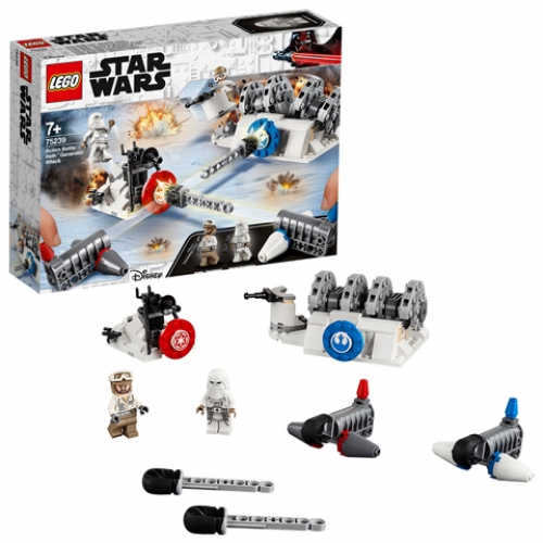 LEGO 75239 Star Wars - Action Battle Hoth™ Generator-Attacke