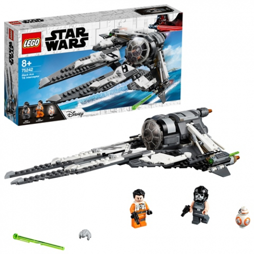 LEGO 75242 Star Wars - TIE Interceptor™ – Allianz-Pilot