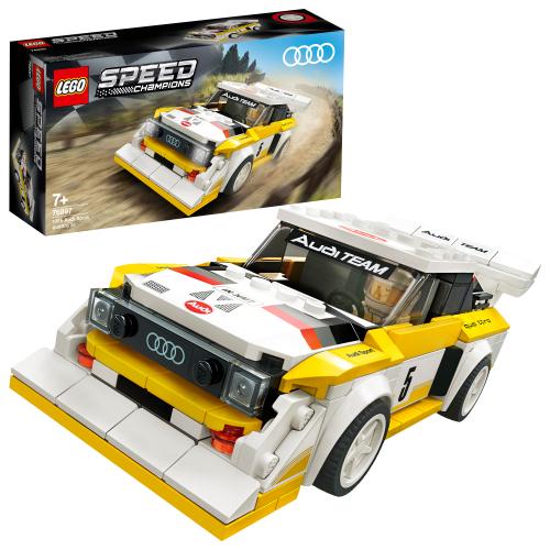 LEGO 76897 SPEED CHAMPIONS - 1985 Audi Sport quattro S1