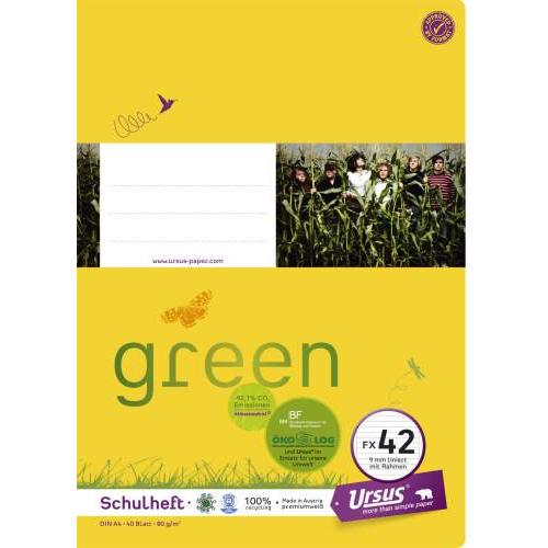 URSUS Heft A4, liniert, 40 Bl.