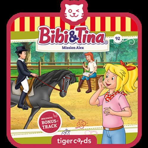 TIGERMEDIA tigercard: -Bibi & Tina (92) - Mission Alex