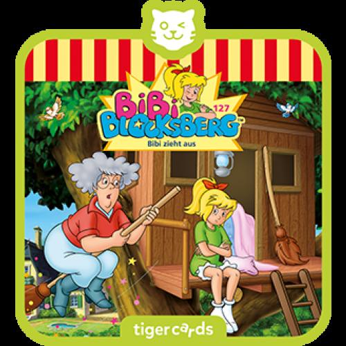 TIGERMEDIA tigercard: Bibi-Blocksberg (127) - Bibi zieht aus