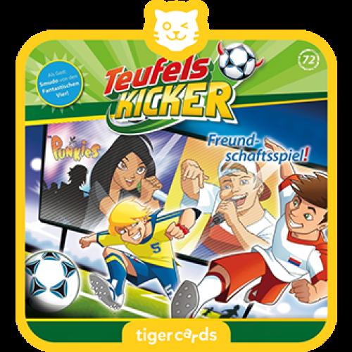 TIGERMEDIA tigercard: Teufelskicker (72) - Freundschaftsspiel!