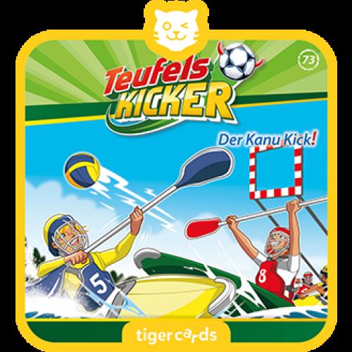 TIGERMEDIA tigercard: Teufelskicker (73) - Der Kanu-Kick!