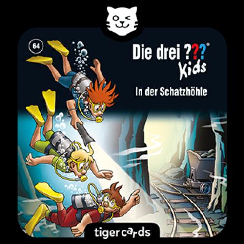 TIGERMEDIA tigercard: Die drei- ??? (64) - In der Schatzhöhle