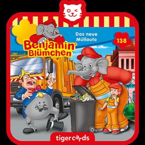 TIGERMEDIA tigercard: Benjamin-Blümchen (138) - Das neue Müllauto